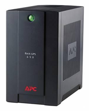 ИБП APC Back-UPS BC650-RS черный