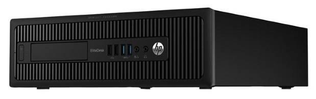 Системный блок HP EliteDesk 800 G1 SFF черный - фото 1