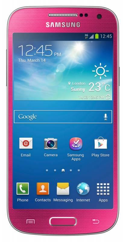 Смартфон Samsung Galaxy S4 mini GT-I9190 8ГБ розовый - фото 1