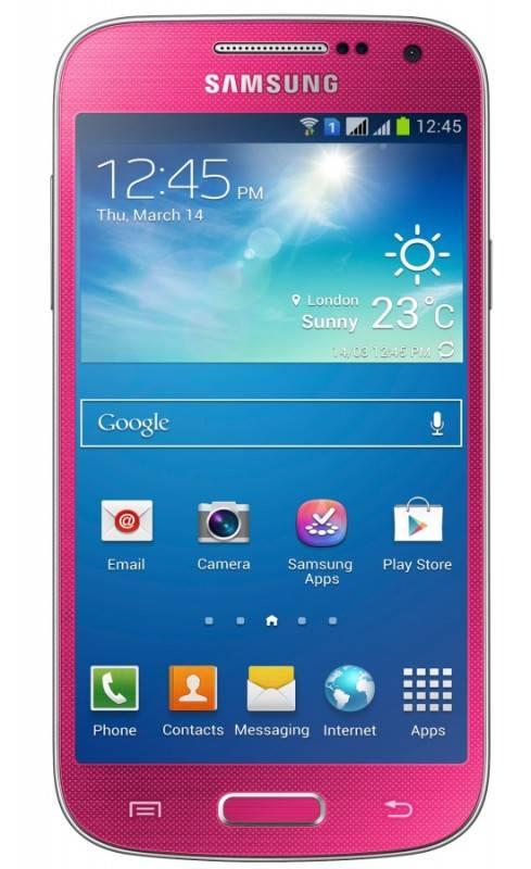 Смартфон Samsung Galaxy S4 mini Duos GT-I9192 8ГБ розовый - фото 1
