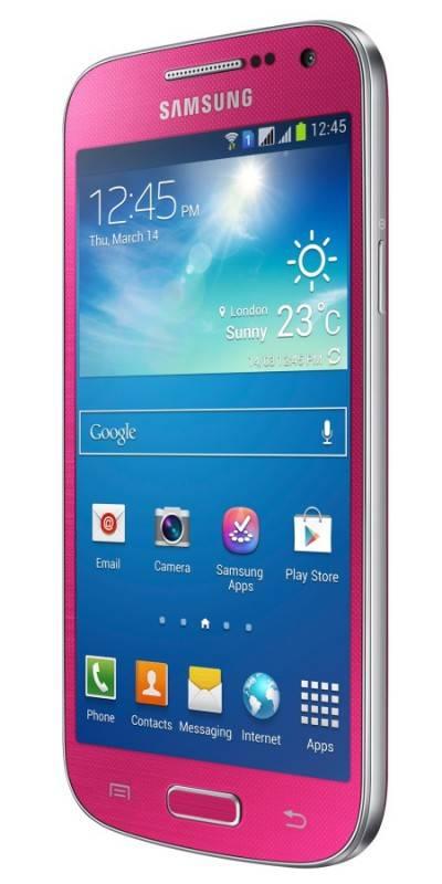 Смартфон Samsung Galaxy S4 mini Duos GT-I9192 8ГБ розовый - фото 3