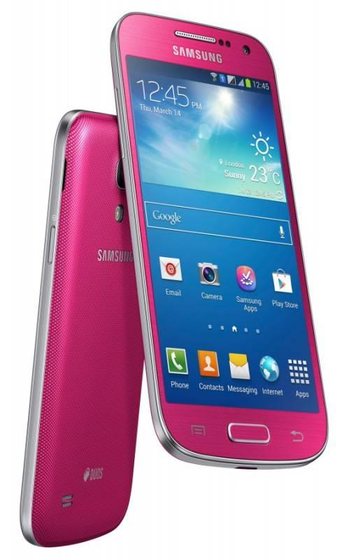Смартфон Samsung Galaxy S4 mini Duos GT-I9192 8ГБ розовый - фото 5