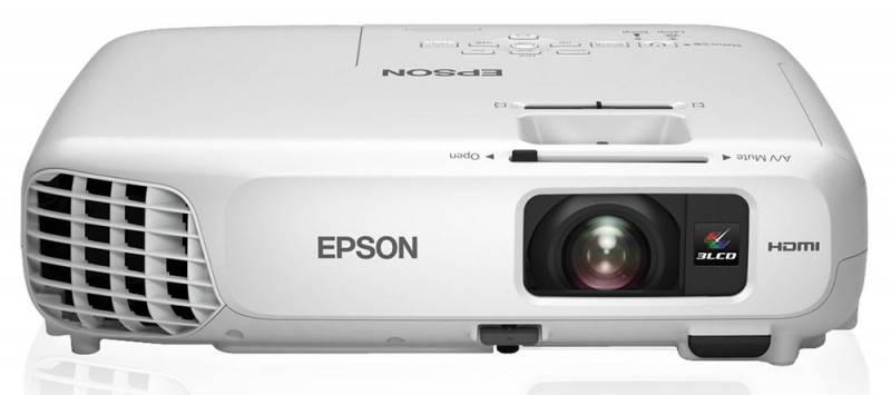 Проектор Epson EB-X18 белый - фото 1