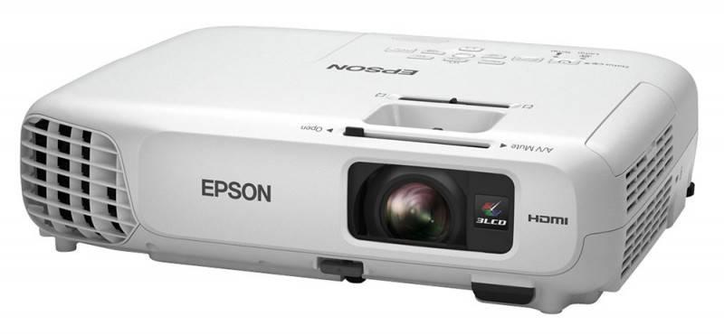 Проектор Epson EB-X18 белый - фото 2