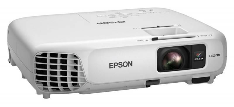 Проектор Epson EB-X18 белый - фото 3