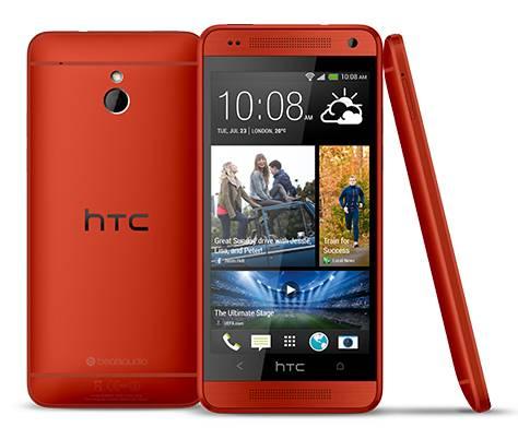 Смартфон HTC One mini красный - фото 1