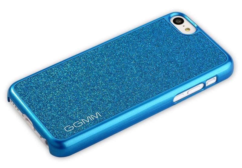 Чехол GGMM Sparkle-5C, для Apple iPhone 5c, синий (ipc00405) - фото 3