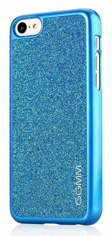 Чехол GGMM Sparkle-5C, для Apple iPhone 5c, синий (ipc00405) - фото 4