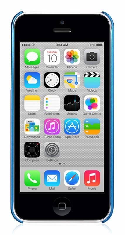Чехол GGMM Sparkle-5C, для Apple iPhone 5c, синий (ipc00405) - фото 5