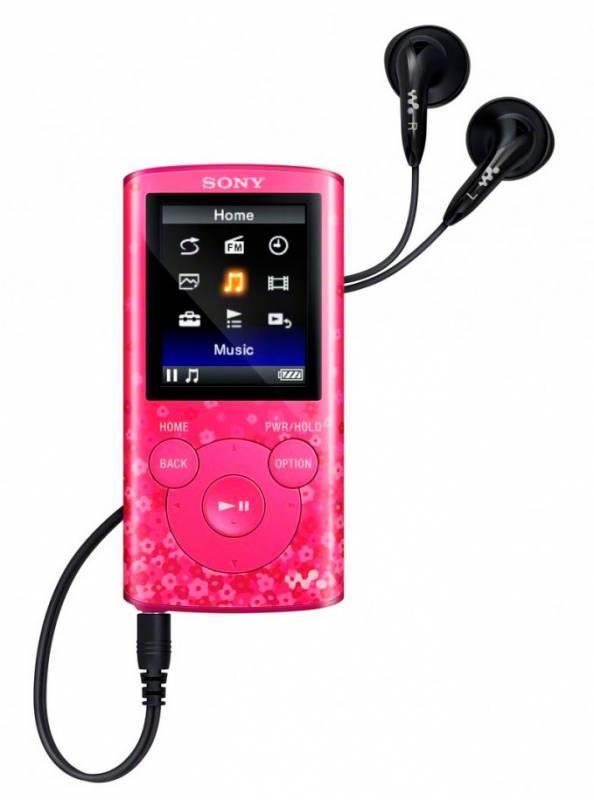 mp3-плеер 4Gb Sony NWZ-E383 розовый - фото 2