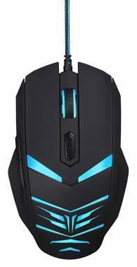 Мышь Oklick 745G LEGACY черный/голубой (MW-1301)
