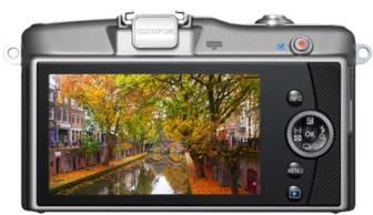 Фотоаппарат Olympus PEN E-PM1 kit серебристый - фото 5