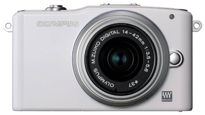 Фотоаппарат Olympus PEN E-PM1 kit серебристый - фото 2