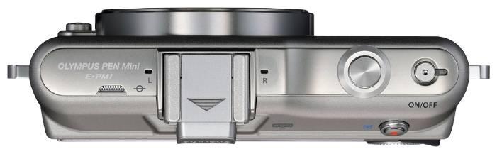 Фотоаппарат Olympus PEN E-PM1 kit серебристый - фото 3