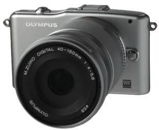 Фотоаппарат Olympus PEN E-PM1 kit серебристый - фото 4