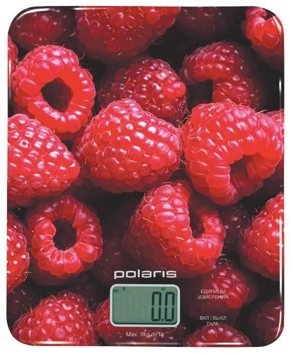 Кухонные весы Polaris PKS0832DG красный - фото 1