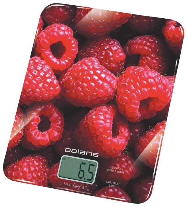 Кухонные весы Polaris PKS0832DG красный - фото 2