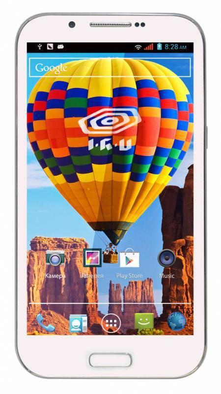 Смартфон IRU M5302 4ГБ гжель - фото 1