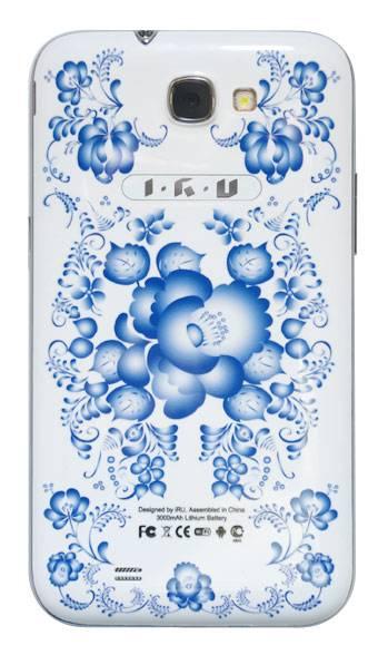 Смартфон IRU M5302 4ГБ гжель - фото 4