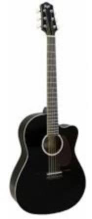 Гитара  FLIGHT SF24C BK - фото 1