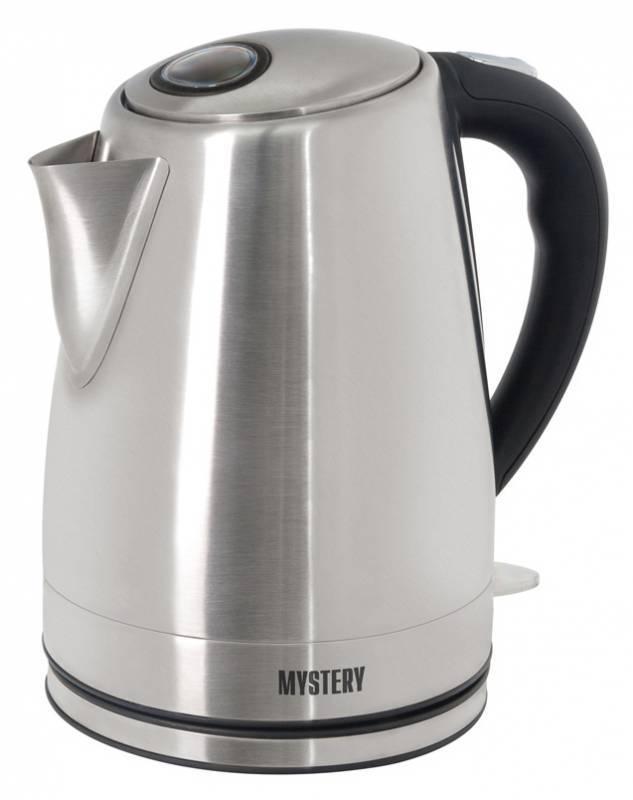 Чайник электрический Mystery MEK-1632 серебристый - фото 1