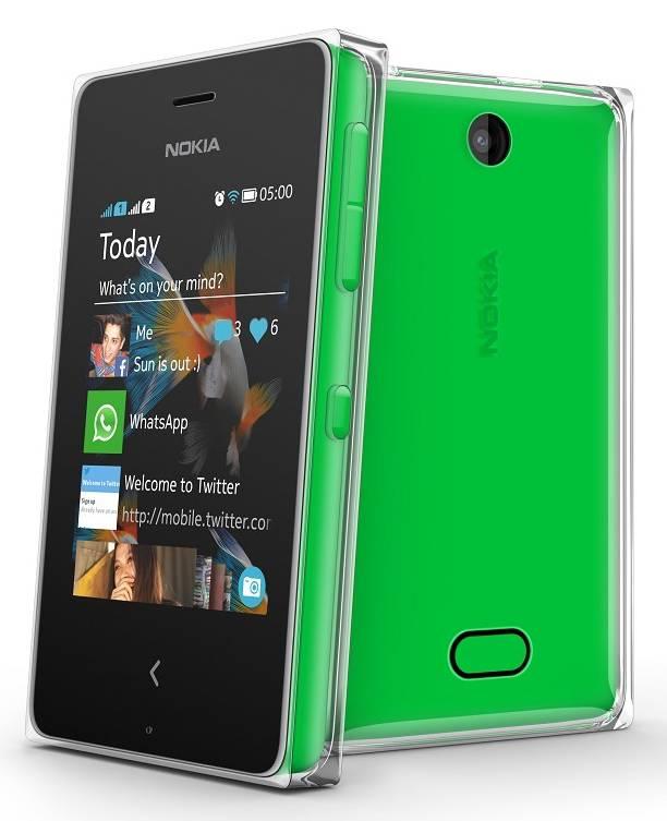 Мобильный телефон Nokia Asha 502 Dual SIM зеленый - фото 3