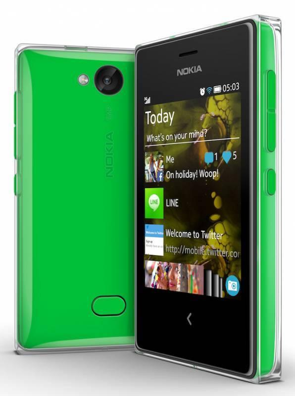 Мобильный телефон Nokia Asha 502 Dual SIM зеленый - фото 4