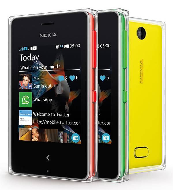 Мобильный телефон Nokia Asha 502 Dual SIM красный - фото 4