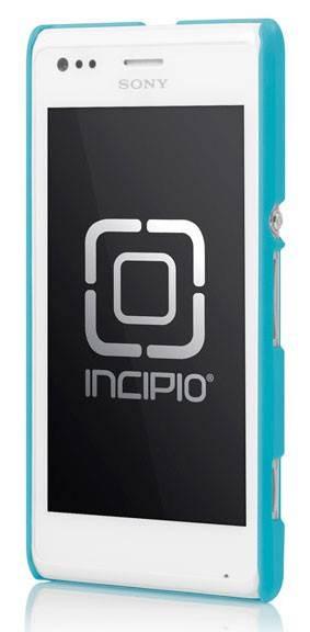 Чехол (клип-кейс) Incipio Feather (SE-240) голубой - фото 2