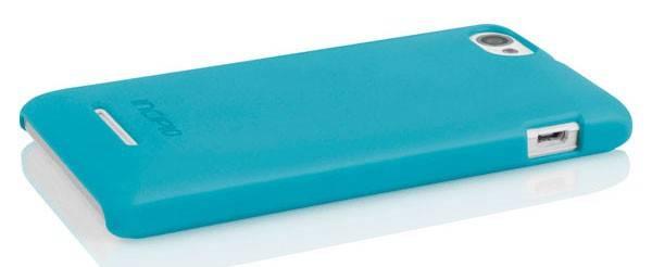 Чехол (клип-кейс) Incipio Feather (SE-240) голубой - фото 4