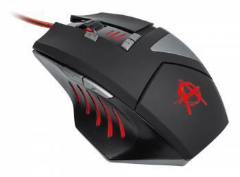 Мышь Oklick 755G HAZARD черный / серебристый