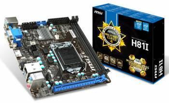Материнская плата Soc-1150 MSI H81I mini-ITX