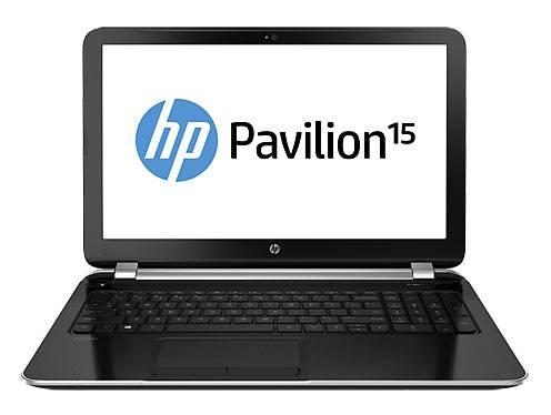 """Ноутбук 15.6"""" HP Pavilion 15-n278sr серебристый - фото 1"""