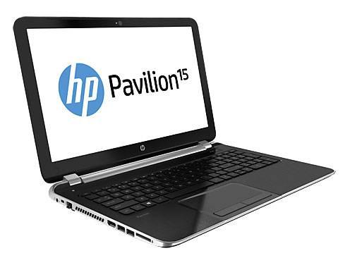 """Ноутбук 15.6"""" HP Pavilion 15-n278sr серебристый - фото 2"""