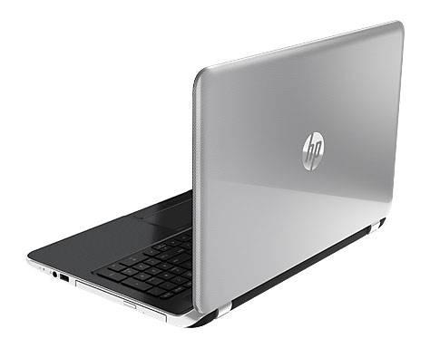 """Ноутбук 15.6"""" HP Pavilion 15-n278sr серебристый - фото 5"""