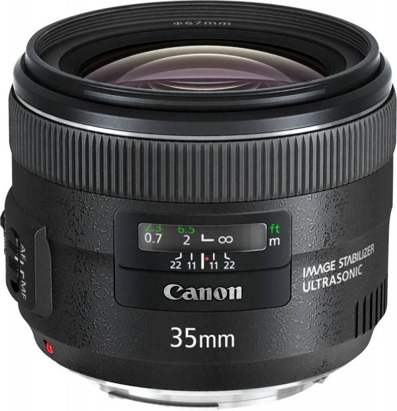 Объектив Canon EF IS USM 35mm f/2 - фото 1