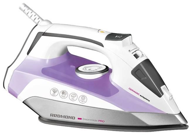 Утюг Redmond RI-C222 фиолетовый/белый - фото 1
