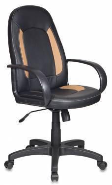 Кресло руководителя Бюрократ CH-826 / B+BG черный