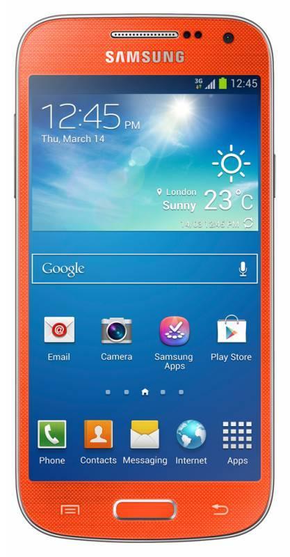 Смартфон Samsung Galaxy S4 mini GT-I9190 8ГБ оранжевый - фото 1