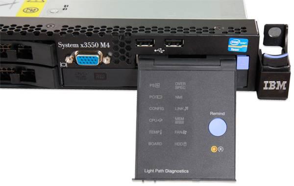 Сервер IBM x3550 M4 - фото 10