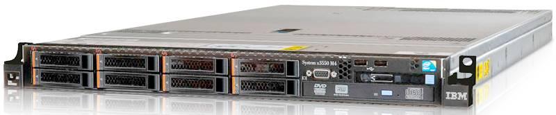 Сервер IBM x3550 M4 - фото 1