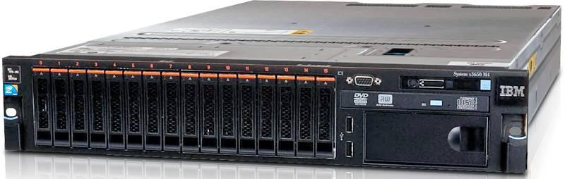 Сервер Lenovo x3650 M4 - фото 1