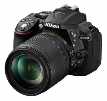 Фотоаппарат Nikon D5300 1 объектив черный