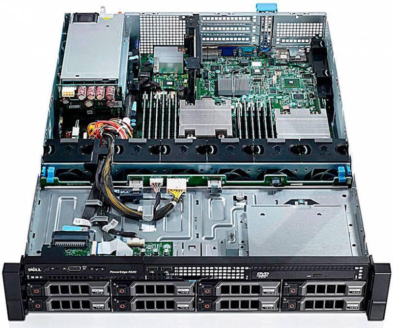 Сервер Dell PowerEdge R520 - фото 5