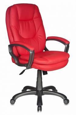 Кресло руководителя Бюрократ CH-868AXSN/красный (CH-868AXSN/Red)