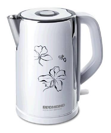 Чайник электрический Redmond RK-M131 белый (RK-M131 (БЕЛЫЙ)) - фото 1