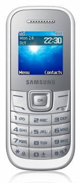 Мобильный телефон Samsung GT-E1200R белый