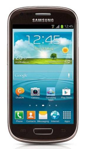 Смартфон Samsung Galaxy S III mini VE GT-I8200 8ГБ коричневый - фото 1