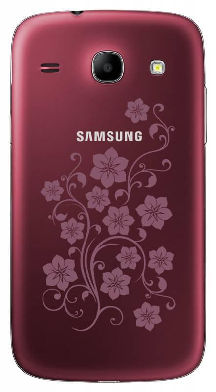 Смартфон Samsung Galaxy Core La Fleur GT-I8262 8ГБ красный - фото 5