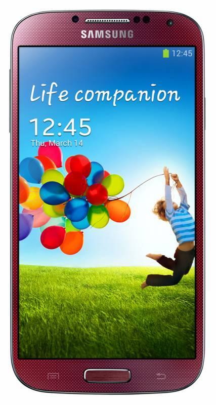 Смартфон Samsung Galaxy S4 La Fleur GT-I9500 16ГБ красный - фото 1